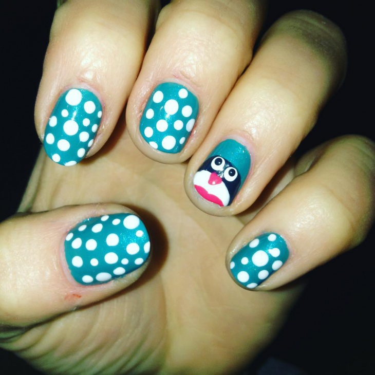 20 Penguin Nail Art Designs Ideas Design Trends Premium Psd