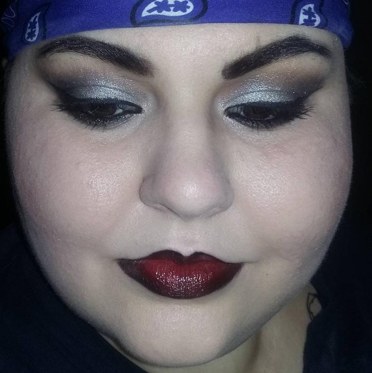 chola eye shadow idea