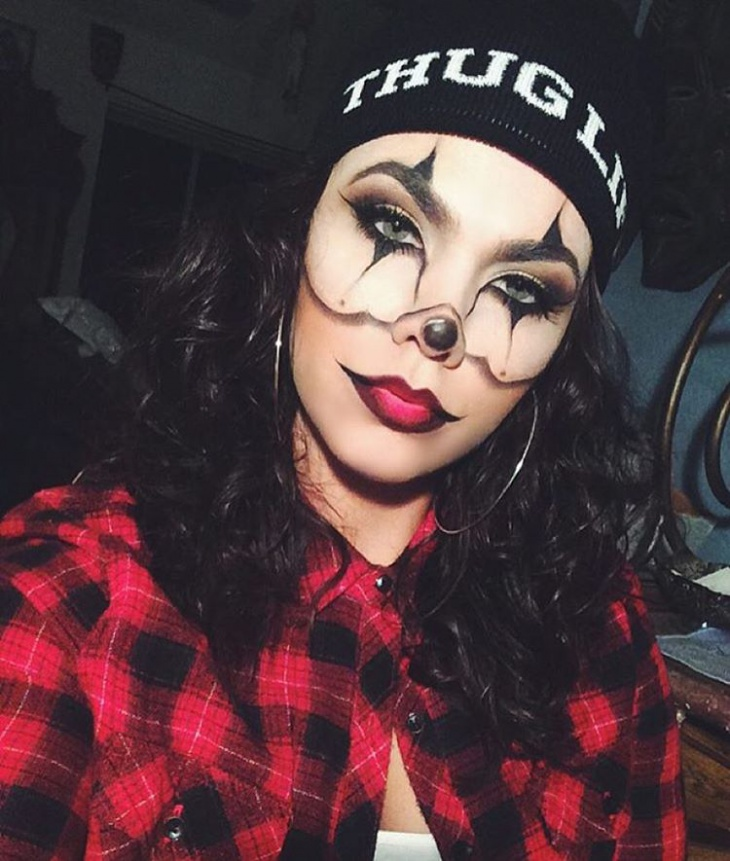 chola makeup for green eyes