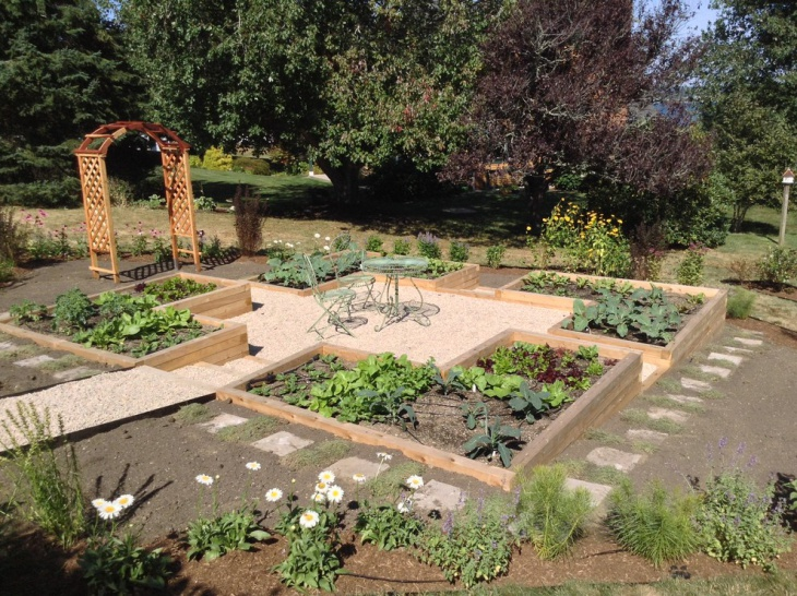 21 gravel landscape designs decorating ideas design for Amenager un jardin en pente