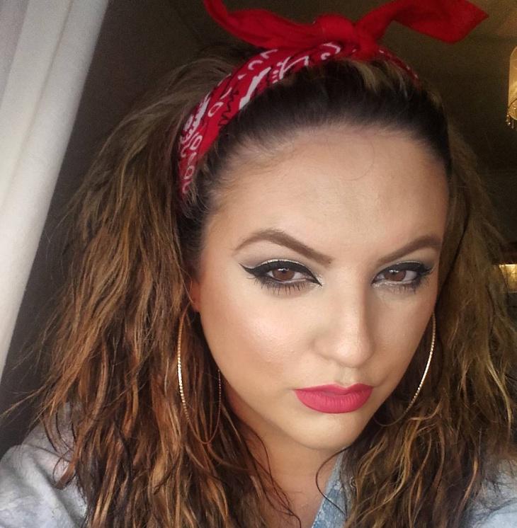 modern chola eye makeup for brown eyes