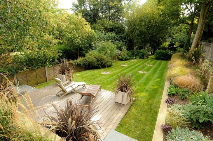 Garden Deck Design Idea