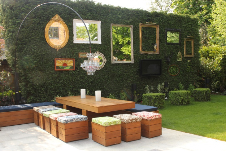 Shabby Chic Style Garden