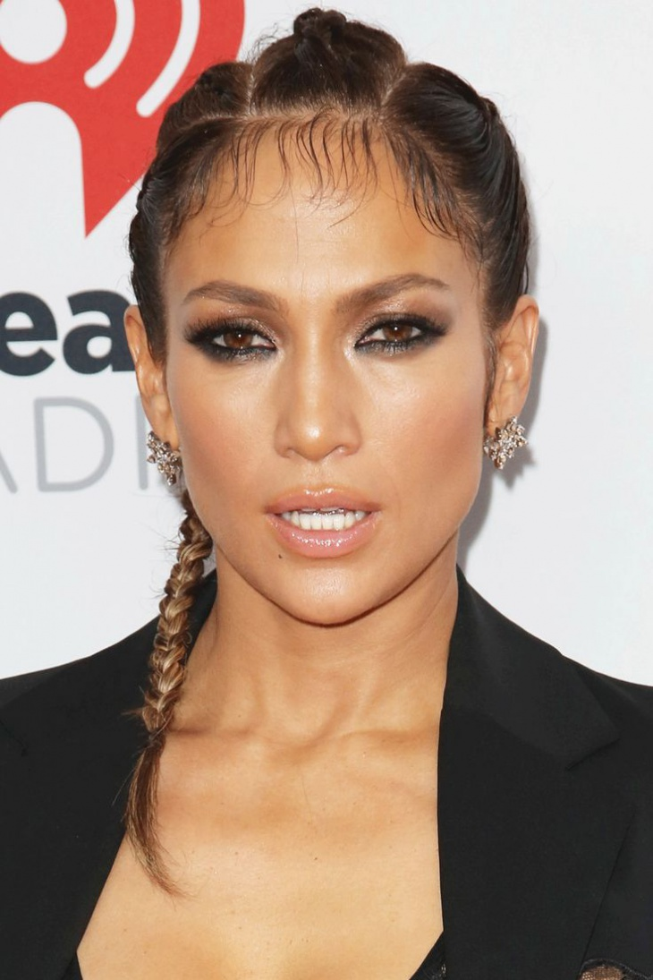 jennifer lopes cornrow hairstyle