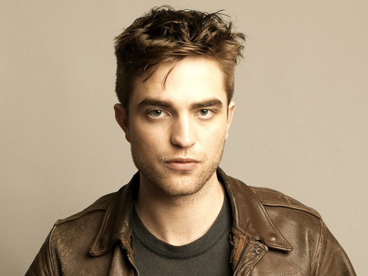 robert pattinson spiky hair