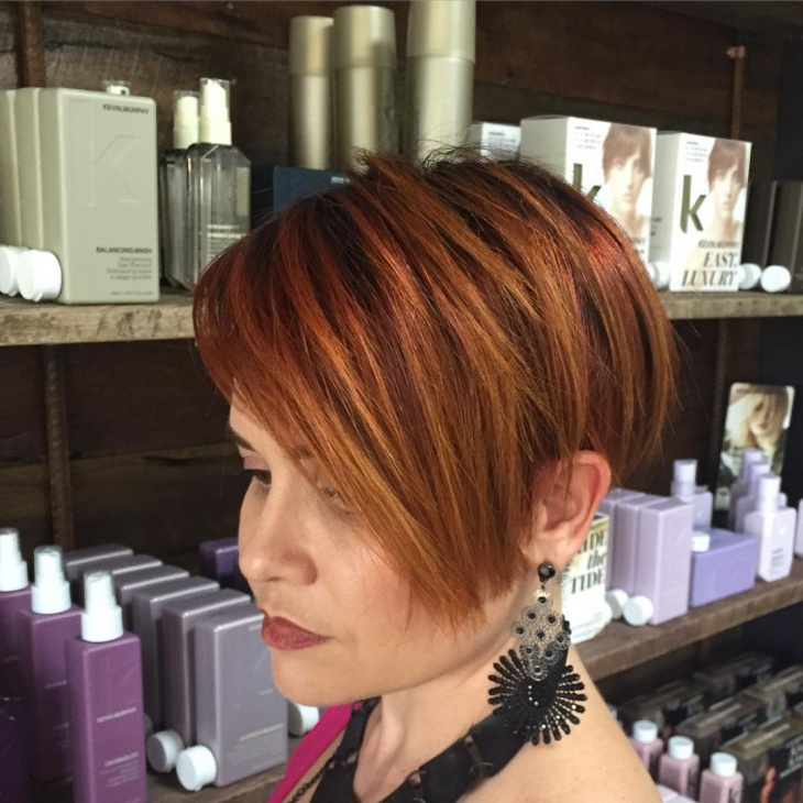 cool short bob haircut
