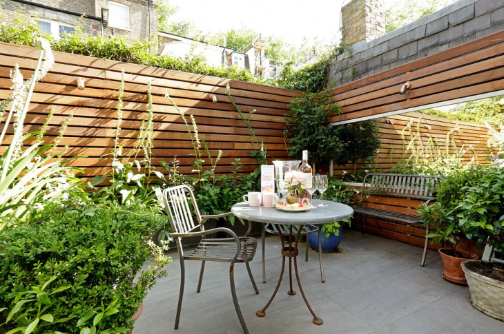 Outdoor Living Garden Idea