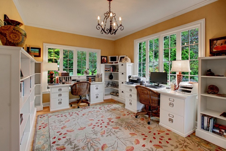 21 Farmhouse Home Office Designs Decorating Ideas