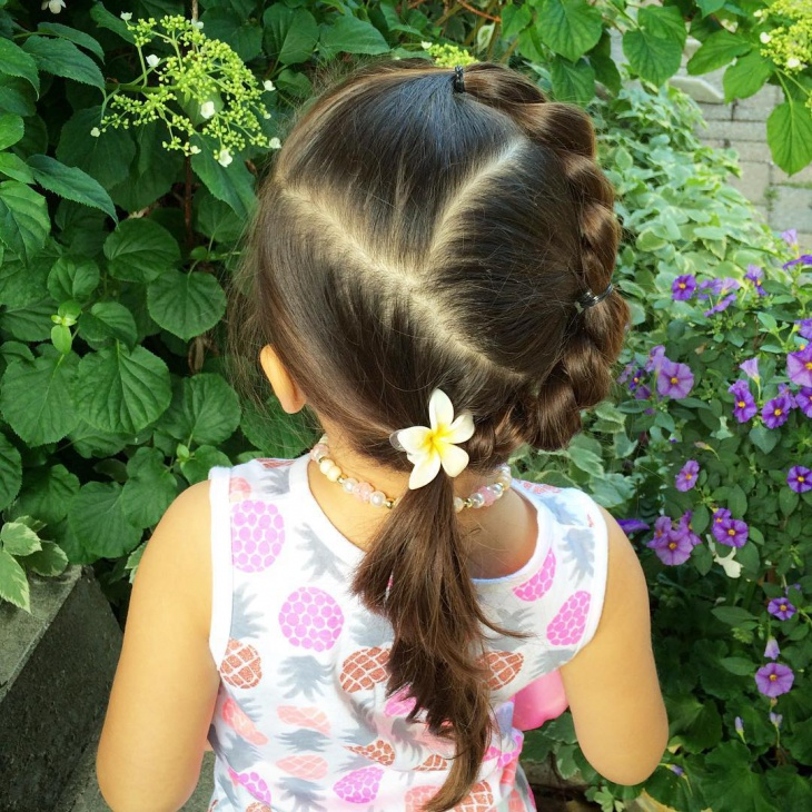 Twisted Braid Idea for Kids