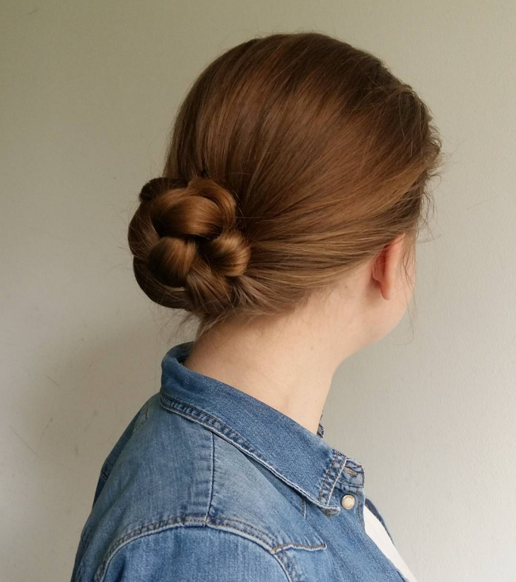 Simple Braided Bun