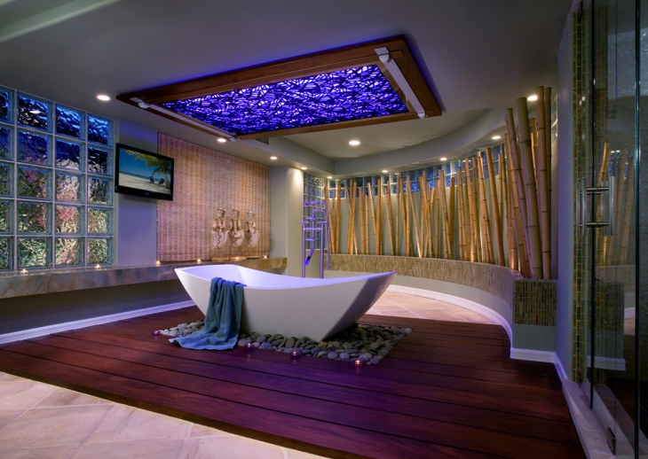 Luxurious Bathroom Design Idea