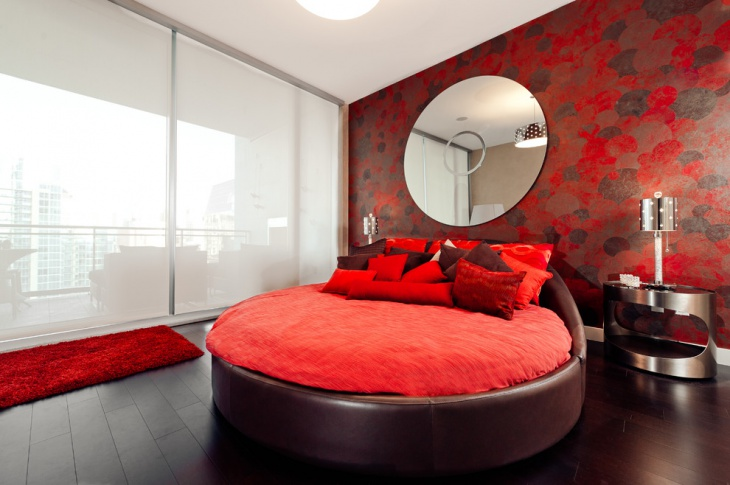 Fabulous Brown Leather Bed Design