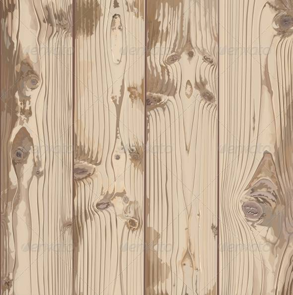 Hand Painted Light Wood Texture