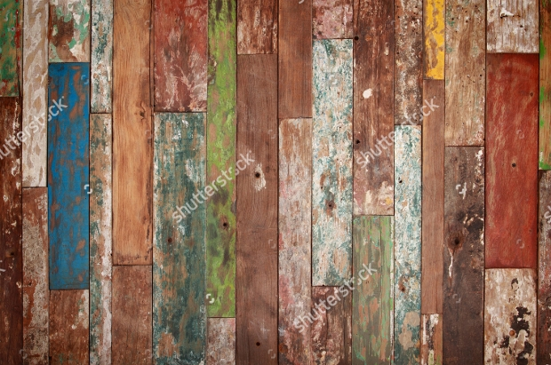 Old Grunge Wood Paint Texture