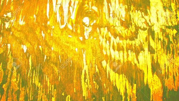 Yellow Old Wood Paint Texture