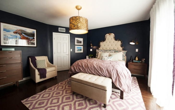 wall art with chandelier master bedroom