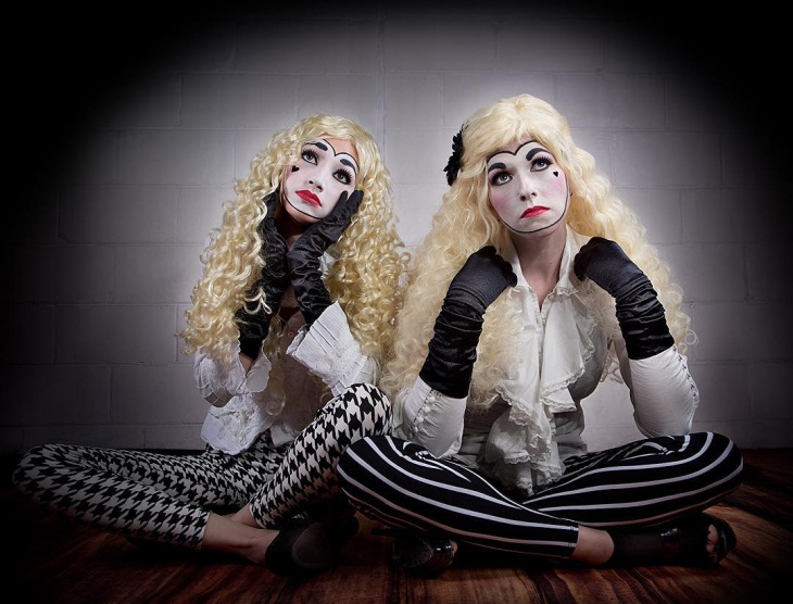 Crazy Mime Makeover Idea