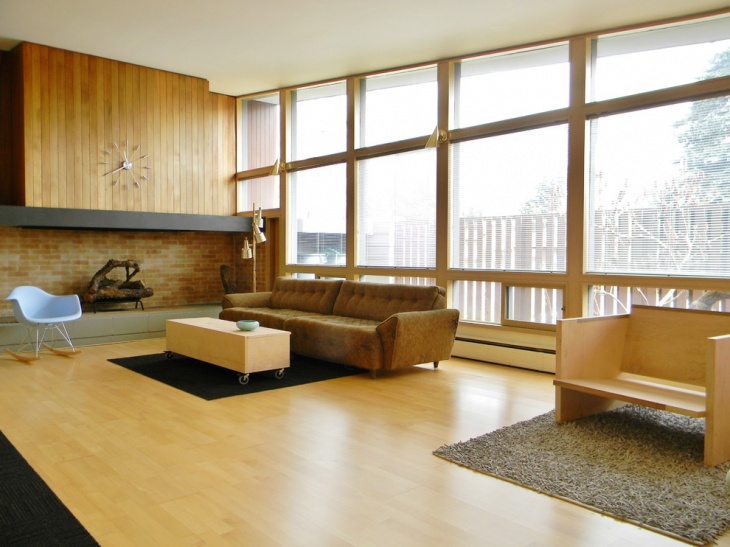 MidCentury Family Room Furniture Design