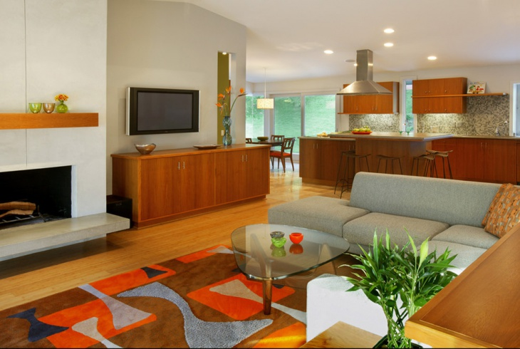 Modern Family Room Design Idea