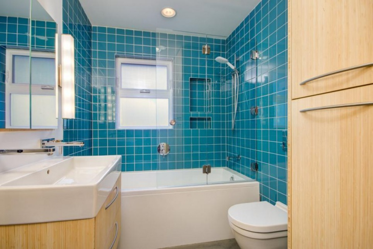 Unique Turquoise Tile Bathroom  Dream Home Amp Shaqqa Design  Pinterest