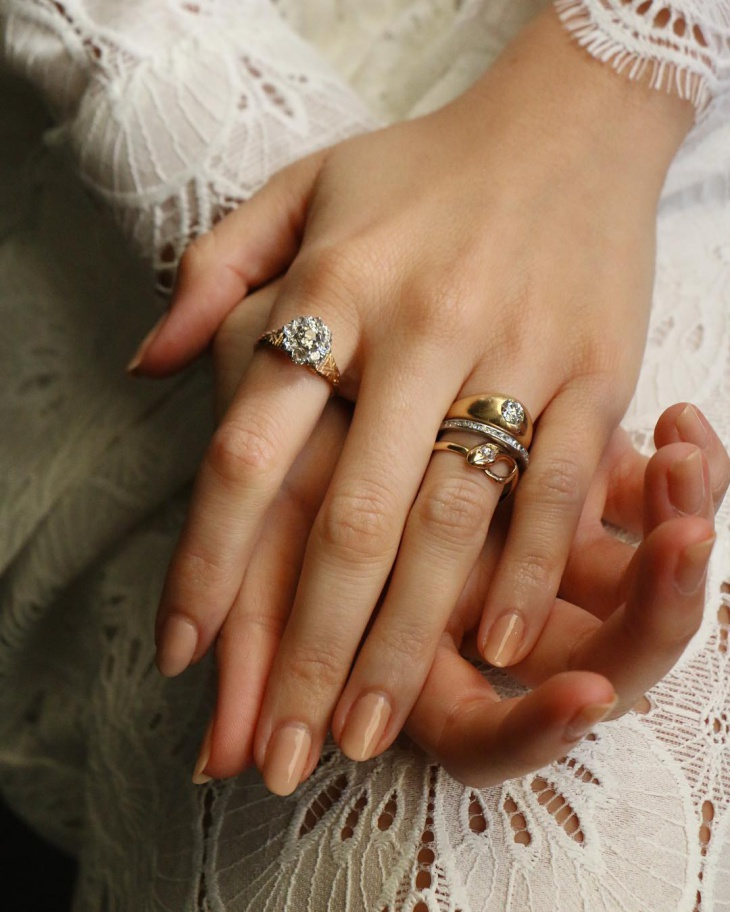 eternity antique wedding ring design