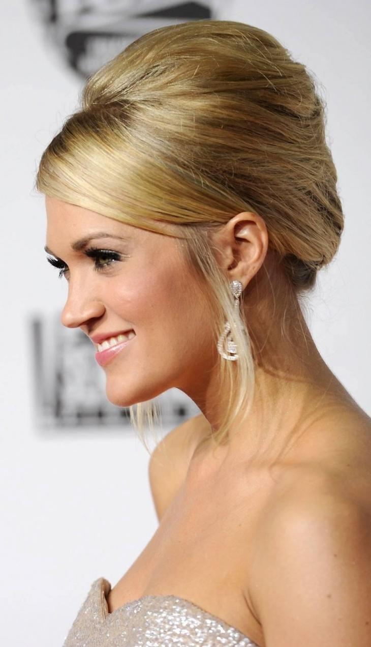 carrie underwood Classy Hair Updo
