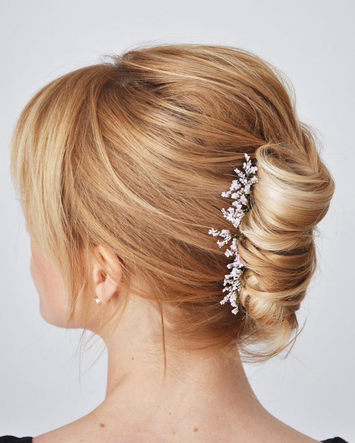 French Bride Twist Hairstyle