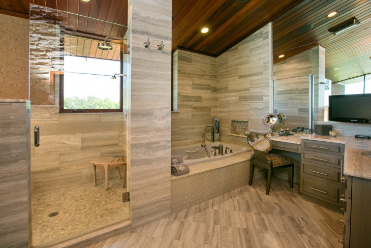 21 cottage bathroom designs decorating ideas design for Rustic modern bathroom ideas