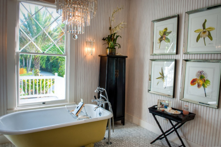 Victorian Look Cottage Bathroom
