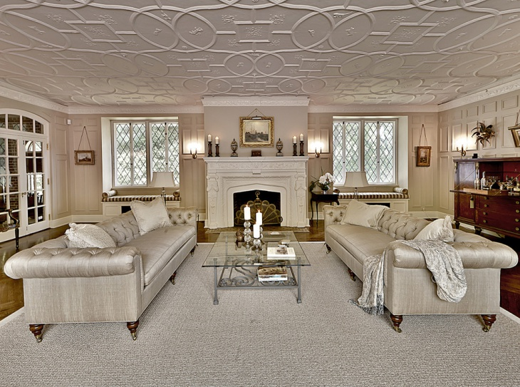 traditional living room sofa idea