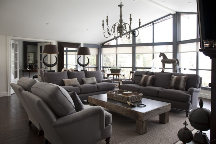 21 living room sofa designs ideas plans design trends - Gray modern living room furniture ...