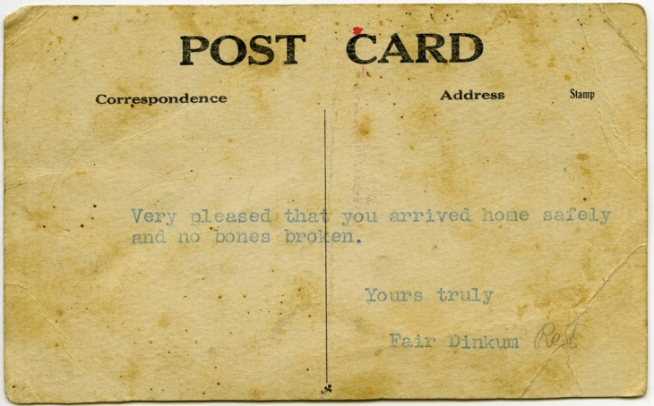 Simple Postcard Texture