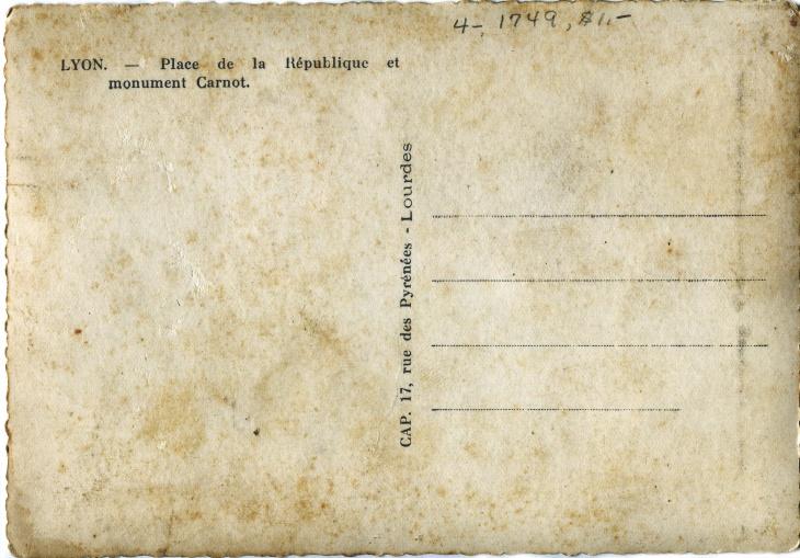 Classic Vintage Postcard Texture