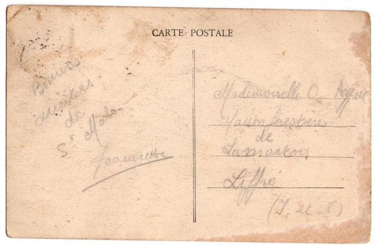 Carte Postale Vintage Postcard Texture