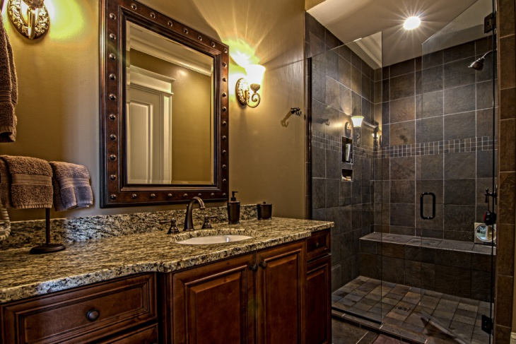 21+ Granite Bathroom Countertop Designs, Ideas, Plans | Design