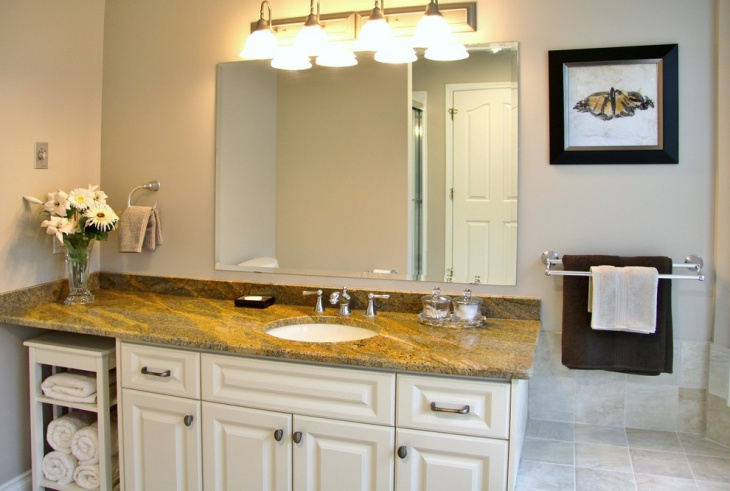 Granite Countertops Color Trends : Granite bathroom countertop designs ideas plans