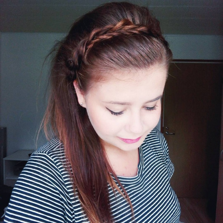 rope braid for brown hair