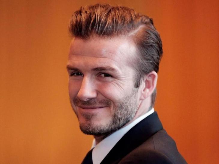 David Beckham Cool Undercut Hairstyle