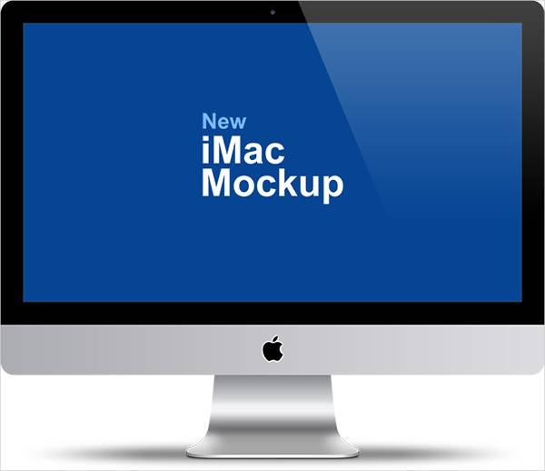 apple imac 27%e2%80%b3 mockup psd design