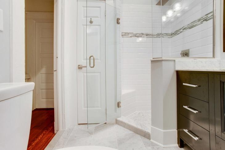 Contemporary Cabinetry Designed Bathroom