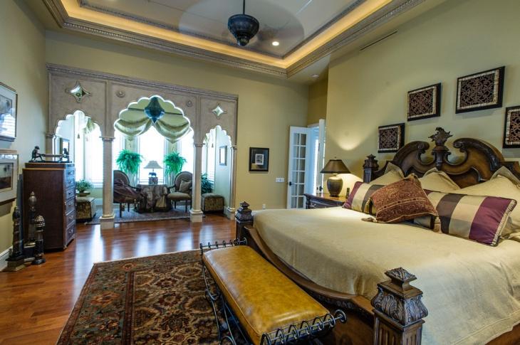 20+ Gothic Bedroom Designs, Decorating Ideas | Design Trends