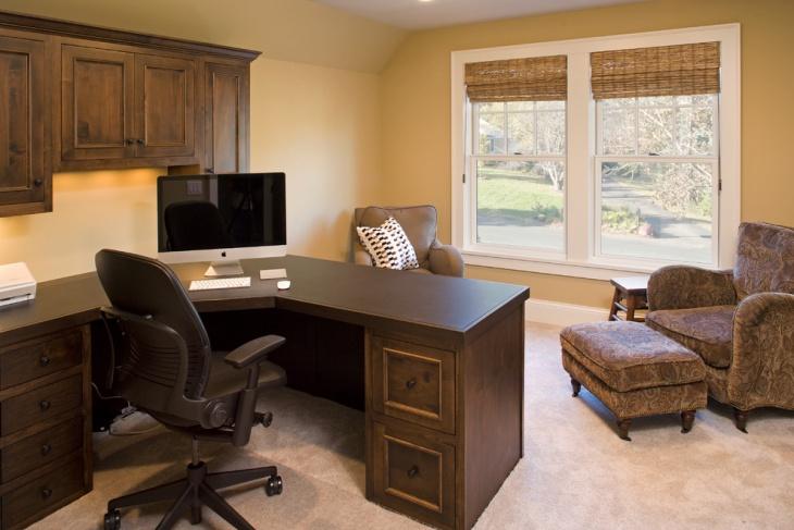 Unique Home Office Design Idea