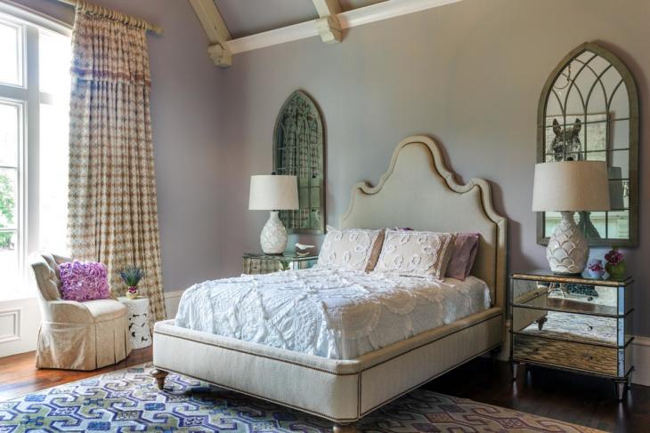 Classy Gothic Bedroom Design