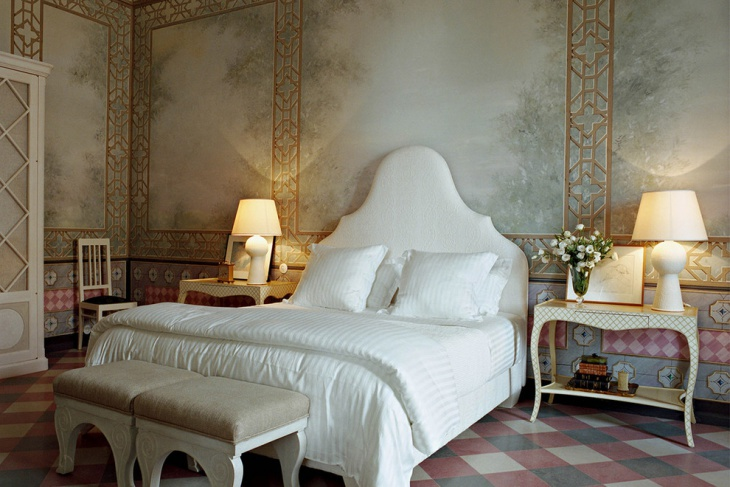 antique gothic bedroom design