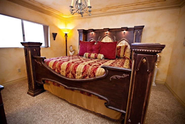 gothic style furniture medditerian bedroom