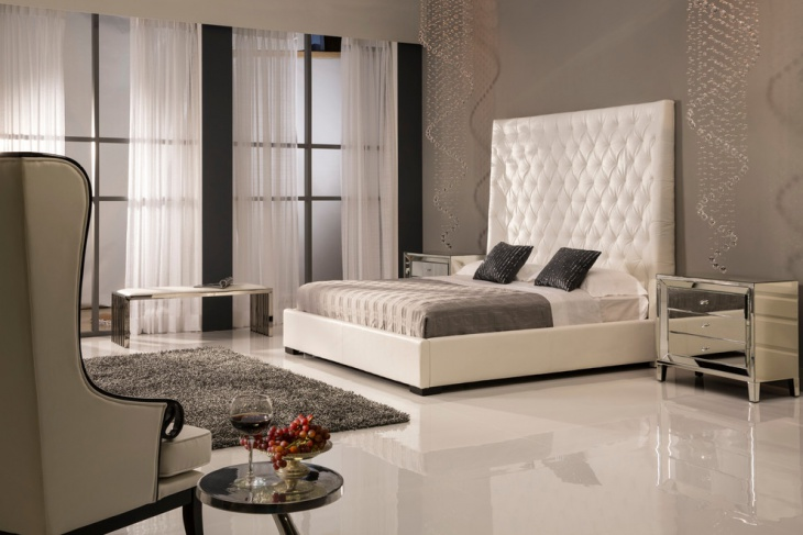 Classic Bedroom with Platform Bed