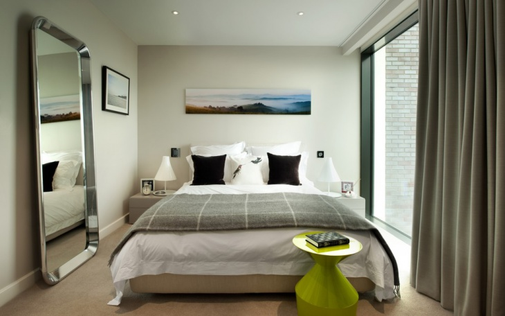 Classy Bedroom with Accent Wall Paint