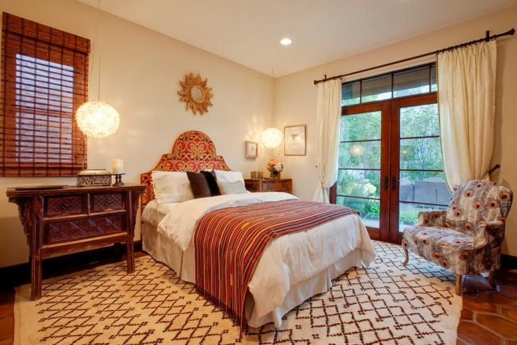 moroccan bedroom interior idea