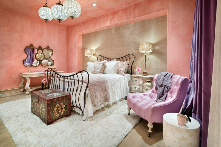 elegant moroccan bedroom design