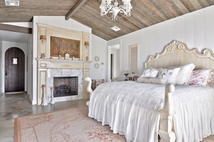 Shabby Chic Style Bedroom Idea